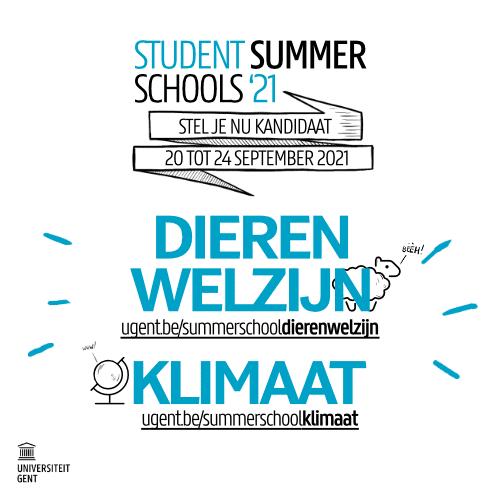 Student summer schools 2021